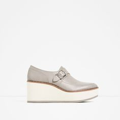 BLUCHER WEDGES-View all-SHOES-WOMAN | ZARA United States
