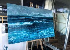 paintings of waves vanessa mae ocean art paintings studies of water abstract