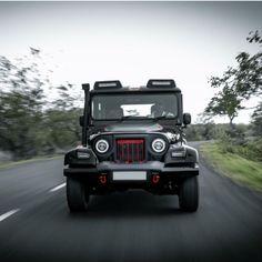 "Modified Mahindra Thar ""Black Hawk"" edition is opulent yet BRUTISH – Sandra Wirth Monster Truck Birthday, Monster Trucks, Land Cruiser, Mahindra Thar Modified, Mahindra Thar Jeep, Car Cakes For Men, Honda Cars, Jeep 4x4, Autos"