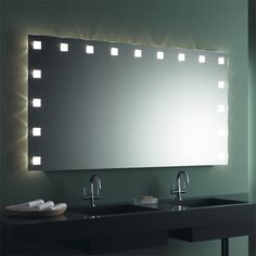 #Mirror #illuminated #make Up #cosmetic #German #Bespoke #large #Format  #Styles #Hotel #Villeroy #Boch #Duravit #Keramag ...