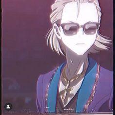 Credits: h0b1vrse on Instagram Otaku Anime, Anime Guys, Cartoon Edits, Yuri On Ice, Joker, Fictional Characters, Beautiful, Instagram, Anime Crying