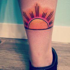 Sunrise tattoo