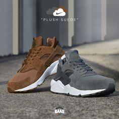"Nike Air Huarache ""Plush Suede"" | Now Online! | Shop now at www.sneakerbaas.com | #sneakerbaas #baasbovenbaas #nike #air #huarache"