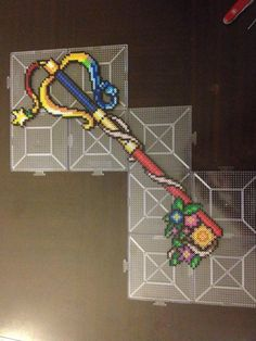 Kingdom Hearts Key Perler Beads by PlurlerShop