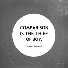 Truth! Comparison leads to shame. I hope to enjoy my uniqueness and also my commonalities. Self-love is a seed that if watered will grow into a great Giving Tree <3