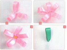 embroidery ribbons, sewing lessons, simple seam tape