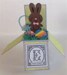 easter pop up box card tutorial - - Yahoo Image Search Results