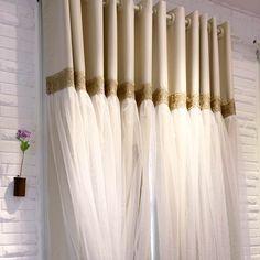 Корейский стиль 2 слоя 4 вида цветов плотные шторы гостиная/спальня белый вуаль занавес для девочек спальня роскошные curtains222