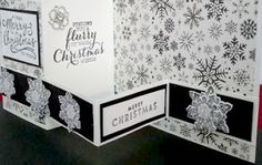 Crafty Maria's Stamping World: Merry Christmas - Double Z Fold Card