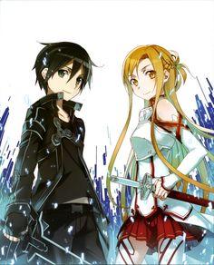 Kirito e Asuna realmente formam um lindo casal!