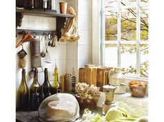 French kitchen this one too...love it.do this with the island counter.....