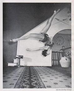 Danielle Darmance, photo by Serge de Sazo, in Fantaisie #9, 1955 (scan)