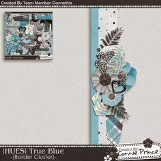 Scrapbooking TammyTags -- TT - Designer - Connie Prince, TT - Item - Border, TT - Style - Cluster