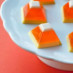 Cutest Jello site ever learn how to make all sorts of jello goodies such as candy corn jello