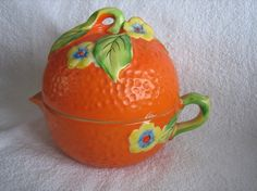 3 Piece Vintage  ORANGE FRUIT REAMER Japan by FindKeepCollect