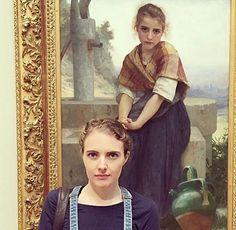 Lors d'une visite au musée, ils tombent sur leurs sosies parfaits... en peintures