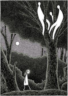 Wood Ghosts by tom gauld.