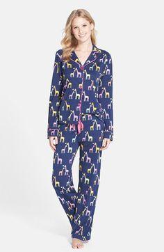 PJ Salvage Print Jersey Pajamas | Nordstrom
