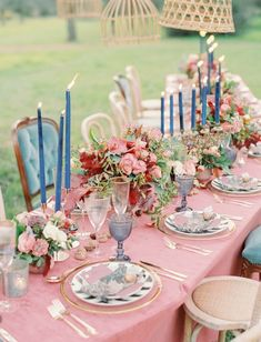 Once Upon a Dream: Blush Meets Blue in This Sleeping Beauty-Inspired Wedding Editorial Briar Rose Sleeping Beauty Dusty Rose Blue Wedding Inspiration with Whimsical Tablescape Sleeping Beauty Wedding, Sleeping Beauty Fairies, Wedding Beauty, Rose Wedding, Elegant Wedding, Floral Wedding, Wedding Hair, Fall Wedding, Wedding Bouquets