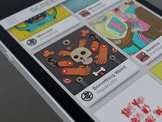 Dribbble - Thumbnail View by Emre Durmus