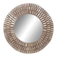 """41"""" Round Metal Wall Mirror   Nebraska Furniture Mart"""