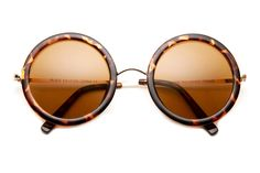 RICKIE THICK ROUND SUNGLASSES (MORE COLORS)  by 80's