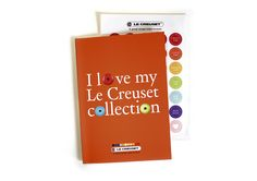 Le Creuset Brochure and Stickers #canvas #design #publication #stickers #lecreuset Canvas Designs, Le Creuset, Stickers, A Boutique, My Design, My Love, Decals