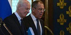 لاوروف متعادل سازی تلاشها برای حل بحران سوریه را خواستار شد
