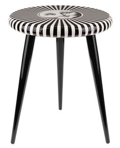Fornasetti Face Print Stool - This totally makes me think of McMenamin's ^_^