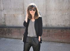 Baggy Leather trousers | Sundaes Best