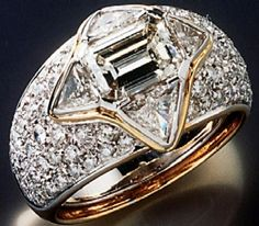 The ring Dodi Fayed gave to Princess Diana