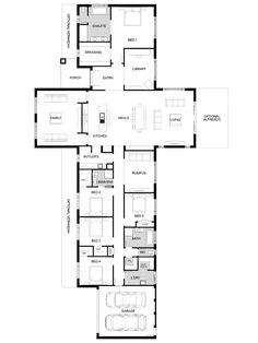 Floor Plan Friday: Timeless acreage home