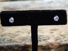 0.54 ct Diamond Stud Earrings
