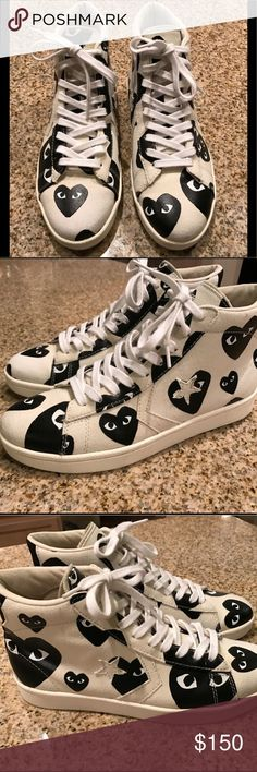 Converse Comme des Garcons pro leather 10M/ 11.5W Like new condition. Rare size. Sold out everywhere! Comme des Garcons Shoes Sneakers