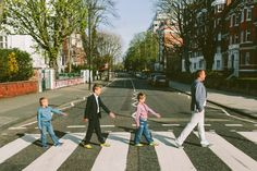 RECREATE YOUR OWN BEATLES MOMENT ON ABBEY ROAD Hands-down one of the most famous photos of all time, a visit to London's Abbey Road is a fun stop. Find three friends, someone to take the photo (like Flytographer), and feel like your favourite Beatle!