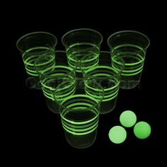 Share CoolGlow with you Friends and Receive 5% on your order.  Glow in the Dark Beer Pong Party Pack - Coolglow.com #http://pinterest.com/coolglow/