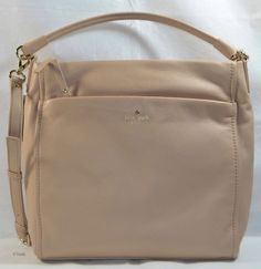 Nwt Kate Spade Curtis Cobble Hill Affogato New Authentic Handbag Beige 348 00