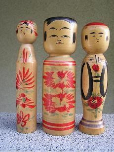 Sato Ushizo 佐藤丑蔵 (1889-1986), Master Sato Bunroku, all approx. 15 cm, left Kogesu type, right Jizo type
