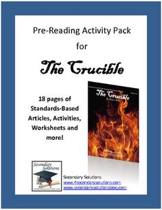 Character poem the crucible teacher character trait and pre reading ideas and activities for introducing arthur millers the crucible 499 fandeluxe Choice Image