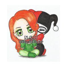 Poison Ivy & Harley Quinn