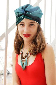 How to wear a turban like Elizabeth Taylor