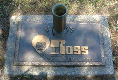 Bob Ross, 1942-1995 (cause of death: Lymphoma) ~ Buried at Woodlawn Memorial Park, Gotha, Florida * Artist