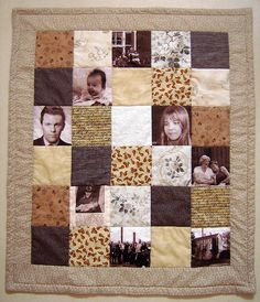 "I have wanted a photo quilt since I saw the move ""step mom"".  Definately needs more pics and brighter colors"