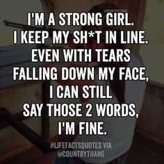 61 Trendy quotes about strength pain sad feelings New Quotes, Change Quotes, Great Quotes, Quotes To Live By, Funny Quotes, Inspirational Quotes, Motivational, Im Fine Quotes, My Heart Quotes