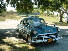 """#Alemendron means literally """"Almond Like"""" and is the colloquial slang name used by #Cubans for their beloved #OldAmericanCars. The name is derived from the (Alemendra means Almond) #Almond shape of most 1950s #Vintage #American #Automobiles such as the #Chrysler 1949. www.AllAboutCuba.com"""