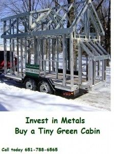 Tiny Green Cabins is a custom builder of transportable, sustainable, healthy, tiny houses and micro homes. We sell plans and design services for those desiring to build a tiny house or want one built to their specifications.