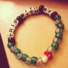 Trip with me kandi bracelet