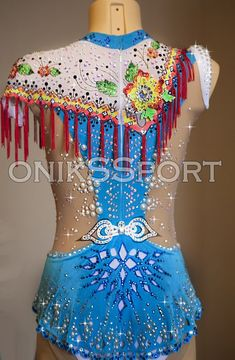 Купальники для художественной гимнастики Gymnastics Outfits, Rhythmic Gymnastics Leotards, Figure Skating Dresses, Ballroom Dress, Skate, Blue Green, Captain Hat, Costumes, Inspiration