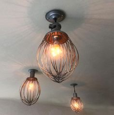 Freshness in the kitchen and up on the ceiling.-There's a new eatery in Orinda, CA called Genuine Goodness. These are their new lights: