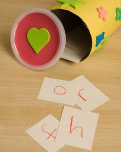 Activities: Magic Jar Alphabet Game  What a fun way to learn the letters and their sounds.